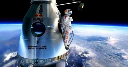 Redbull Skydive Record