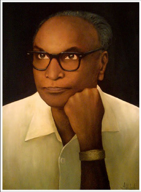 Portrait of Shri. P. Kesavadev