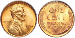 1934 Lincoln Wheat Small Cent