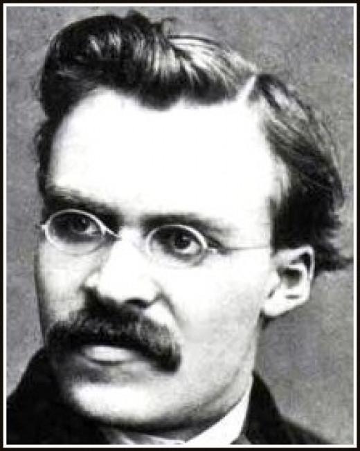 Arch-atheist Friedrich Nietzsche
