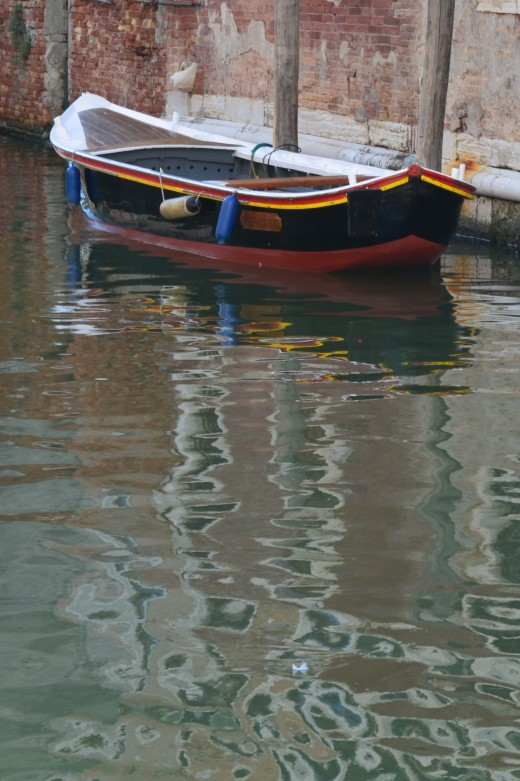 Boat in Venice from Tony DeLorger. Alone in a sea of life; but that remains our choice.