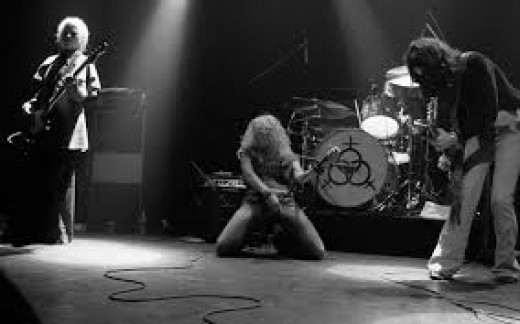 Led Zeppelin is a great rock and roll band from the 70's and they rocked hard. Their most famous song is Stairway to Heaven and the lead singer is Robert Plant.