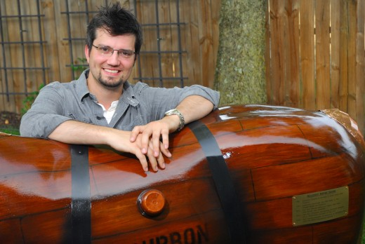 Brian Endicott, entrepreneur and owner of Lulbegrud Creek Distilling Company, LLC™