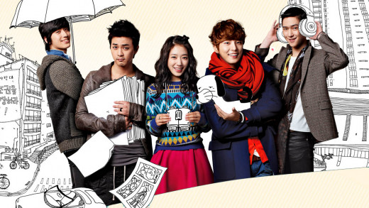 Flower Boy Next Door - a popular Korean Drama featuring Flower Boys