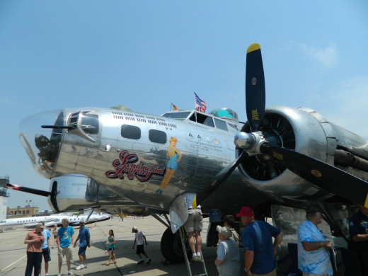 The B-17 Bomber Sentimental Journey