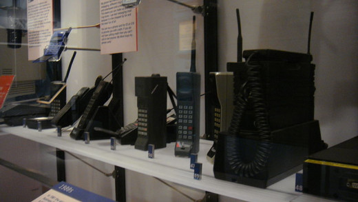 Cell Phone Museum in Scotland