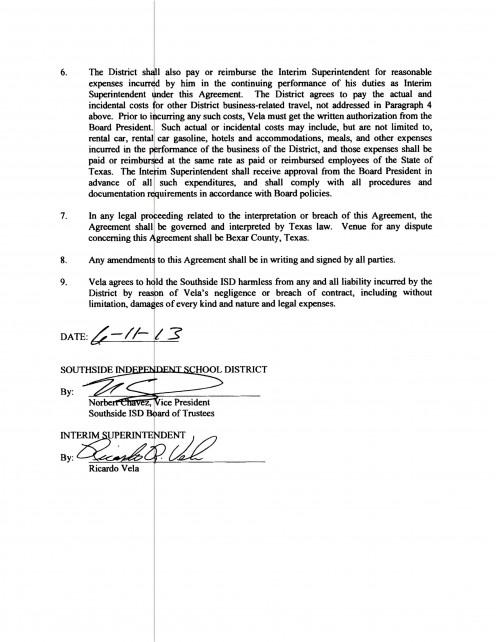 Page 2: Contract, Ricardo R. Vela
