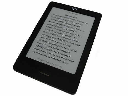 E-readers make it easy to have all your books in one spot so they are easier to remember to bring to literature class.