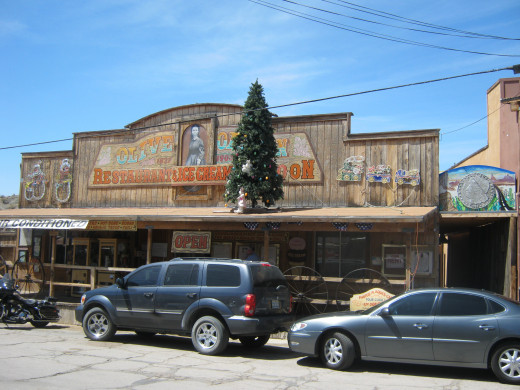 Olive Oatman Shop in Oatman, Arizona