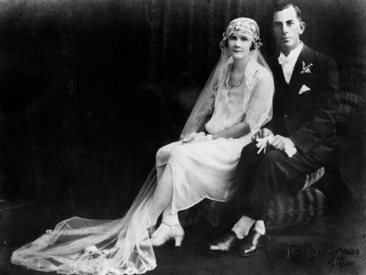 1920's era wedding