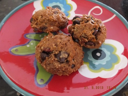 These cookies are nearly guilt-free! They have a deep, rich flavor, that will satisfy any sweet tooth!