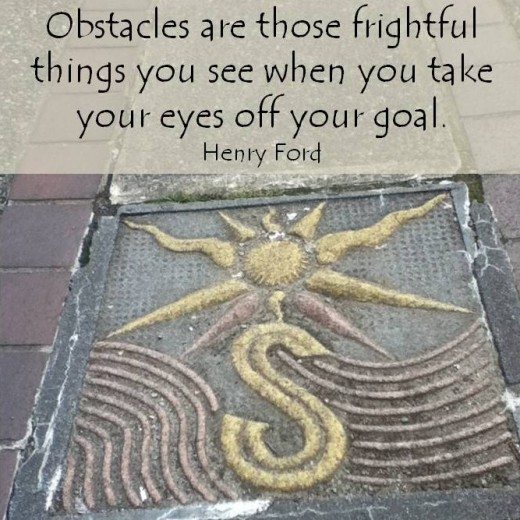 Feeling lost? Not sure which direction you should be heading in? Focus on your goals and you will find your way.