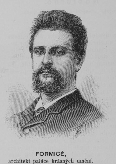 Portrait of architect Jean Camille Formigé (1845 - 1926)