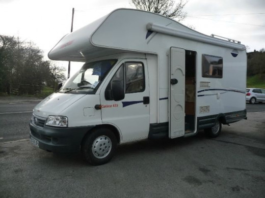 This is the motorhome we just bought! Ready to travel Europe in a motorhome.