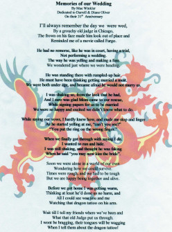 Memories of Our Wedding/The Dragon Tattoo