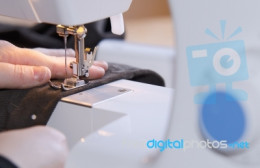 Holding your hand steady while sewing on a machine is a must, and an unexpected hand cramp could be really dangerous in this situation.