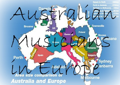Australian Musicians in Europe Find us on Facebook