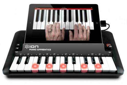 ION audio piano apprentice for iPhone 5!
