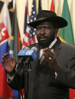 Salvar Kiir Mayardit - South Sudan's President