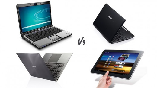 Laptop, netbook or tablet? All options offer computing capabilities on the go, but there are differences between their characteristics.