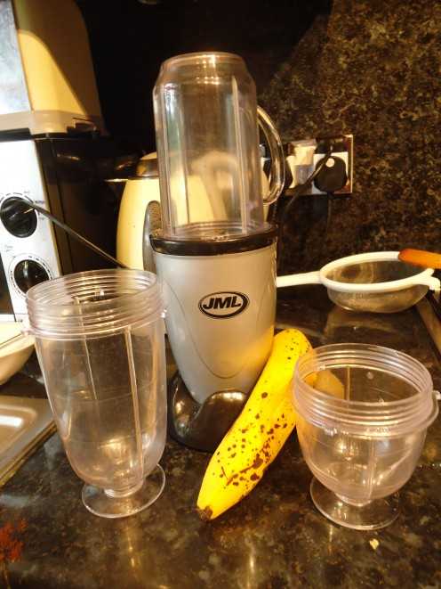 Perfect tool for this fruit smoothie recipe.  Great for making individual servings