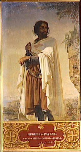 Hugh of Payns, founder of the Knights Templar.
