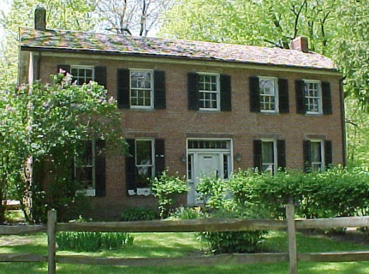 Be sure to visit the Bronnenberg House when you are in Mound State Park
