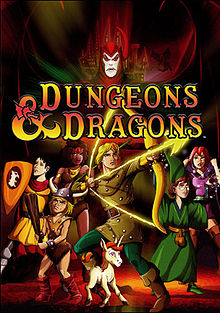 cover art for the Dungeons and Dragons cartoon