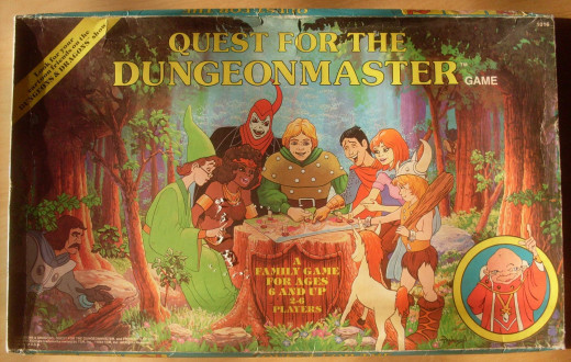 Box art for Quest for the Dungeon Master