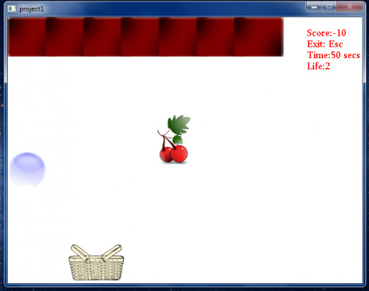 The First 2D Game I ever programmed ..