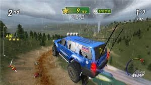 Excite Truck was produced for the Nintendo Wii in 2006. It's a remake from an earlier system which was the first Nintendo, an 8-bit system.