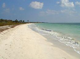 Beaches along the Atlantic