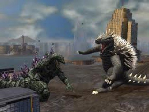 Godzilla Unleashed was released in 2007 for the Nintendo Wii.  In the game, your character can be Godzilla or Rodan.