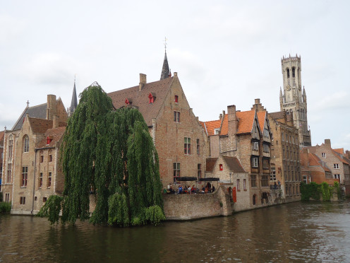 Picturesque Bruges, Belgium