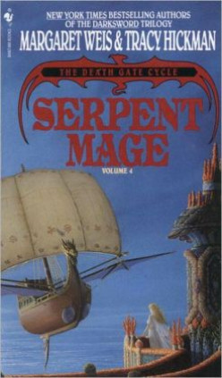 Serpent Mage (Death Gate Cycle #4) by Margaret Weis and Tracy Hickman