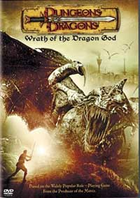 Dungeons and Dragons: Wrath of the Dragon God DVD cover art