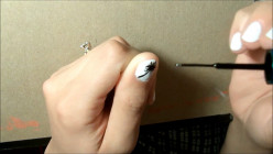 How to Paint a Dandelion on Your Nails (Step-by-Step Tutorial)