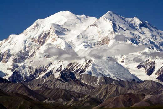 Denali, Alaska. Highest point in the United States.