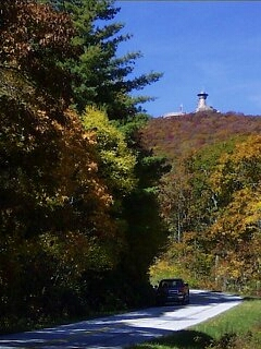 Approaching Brasstown Bald, Georgia.