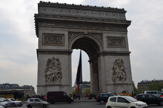 Arc De Triomphe from Tony DeLorger