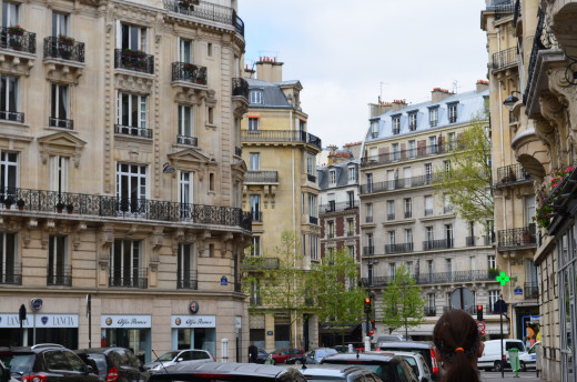 Buildings of Paris from Tony DeLorger
