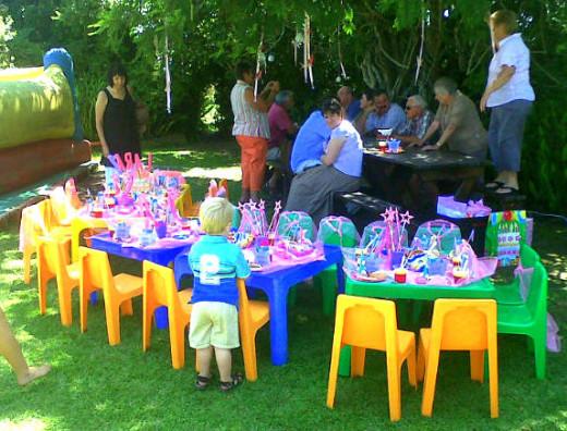 Garden Tea Party Decor