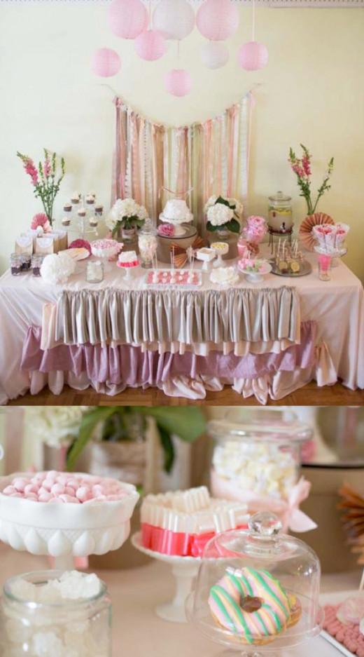 Decor for Fairy Tea Party Theme