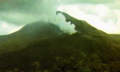 Mount Batur Volcano in Indonesia Bali