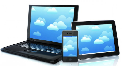 Smart phones and tablets are popular in the modern world