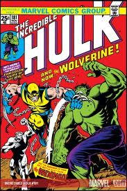 Notice how different Wolverine looks from today.