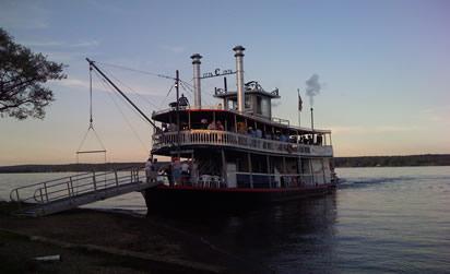 Ride the Chautauqua Belle on Chautauqua Lake