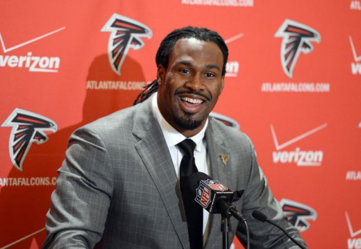 Running back Steven Jackson will try to end his career with a contender in the Atlanta Falcons.