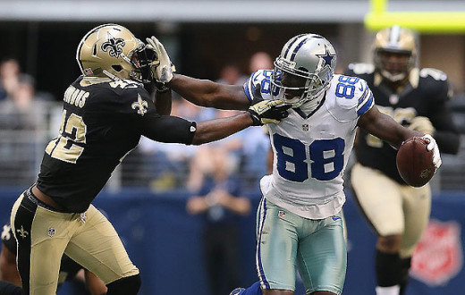 "Dez Bryant of the Dallas Cowboys may be the only wide receiver in the league capable of matching the intense play of Calvin ""Megatron"" Johnson."