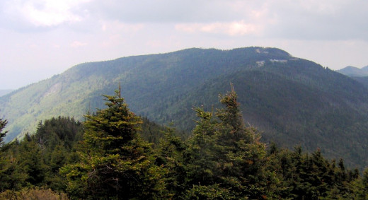 Mount Mitchell, North Carolina.